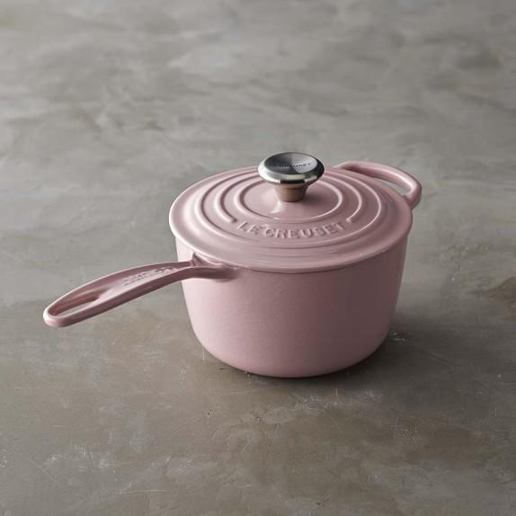 Le Creuset Signature Saucepan, 1 1/2-Qt., Pink