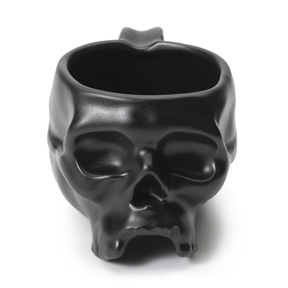 Halloween Skull Mugs, Set of 4
