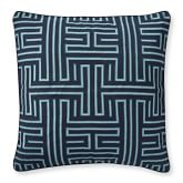 Colonial Greek Key Pillow Cover, 22