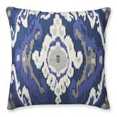 Istanbul Ikat Embroidered Pillow Cover, 22