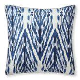 Sophia Ikat Printed Silk Pillow Cover, 20