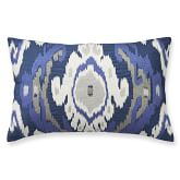 Istanbul Ikat Embroidered Pillow Cover, 14