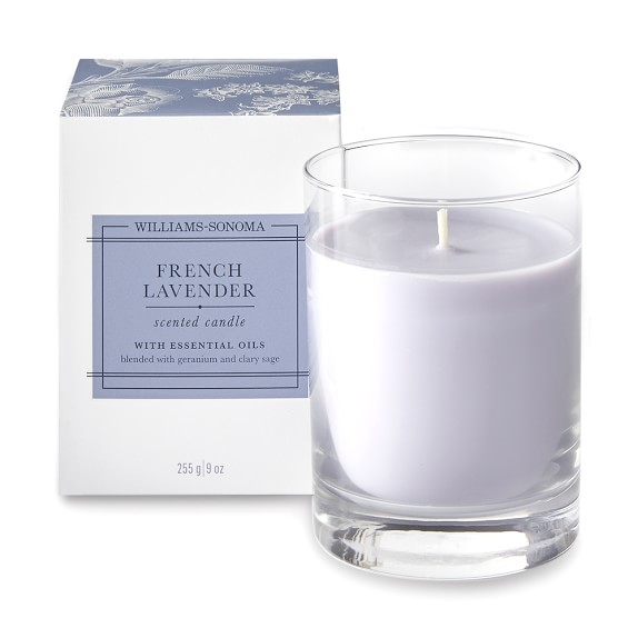 Williams Sonoma French Lavender Candle