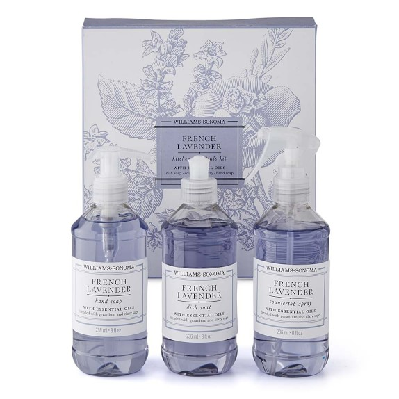 Williams Sonoma French Lavender Kitchen Essentials Kit