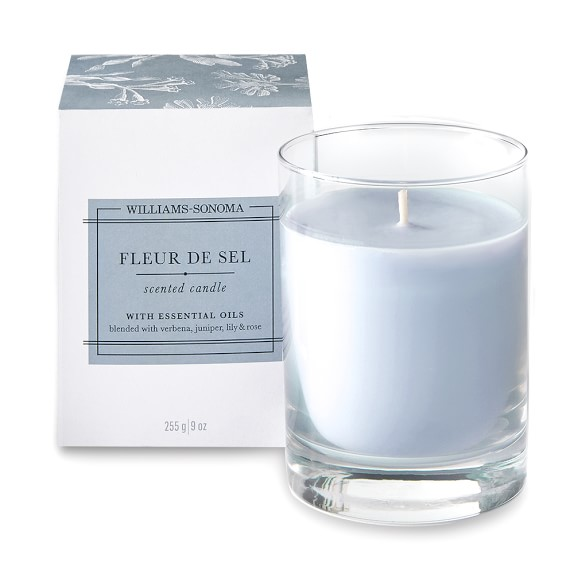 Williams Sonoma Fleur de Sel Candle
