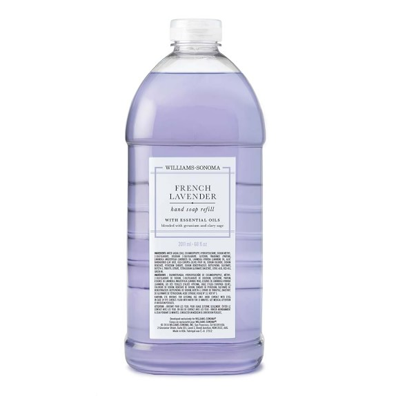 Williams Sonoma French Lavender Hand Soap Refill, 68oz.