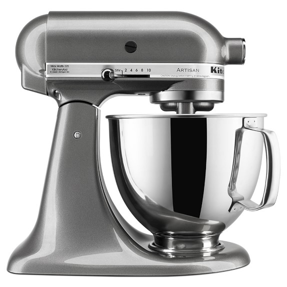 KitchenAid® Artisan Stand Mixer, Medallion Silver