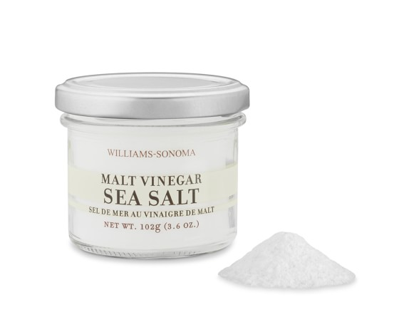 Williams Sonoma Malt Vinegar Sea Salt