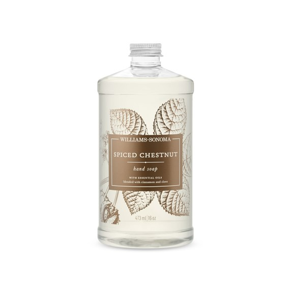 Williams Sonoma Spiced Chestnut Hand Soap, 16oz.