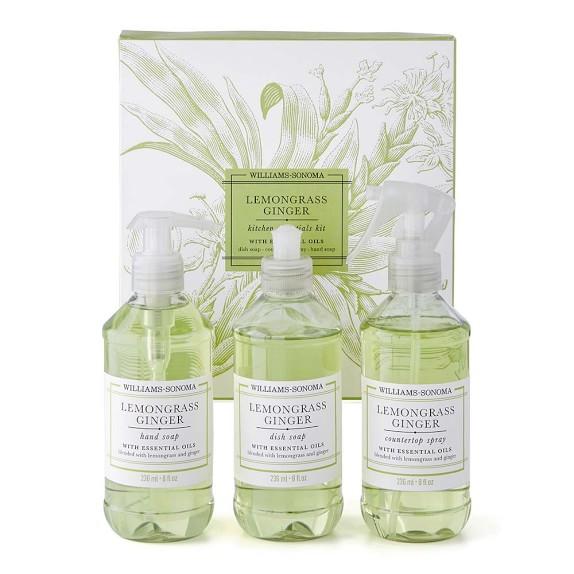 Williams Sonoma Lemongrass Ginger Kitchen Essentials Kit