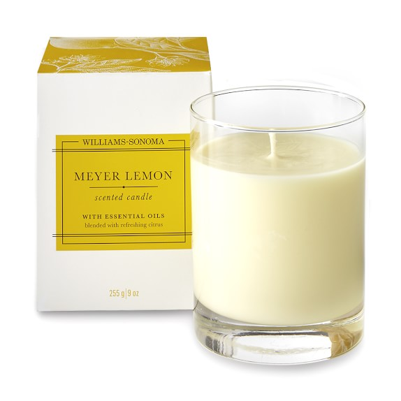 Williams Sonoma Meyer Lemon Candle