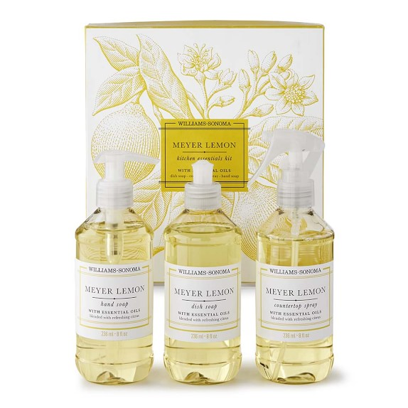 Williams Sonoma Meyer Lemon Kitchen Essentials Kit