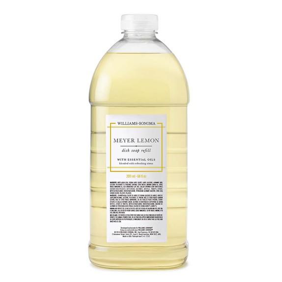 Williams Sonoma Meyer Lemon Dish Soap Refill, 68oz.