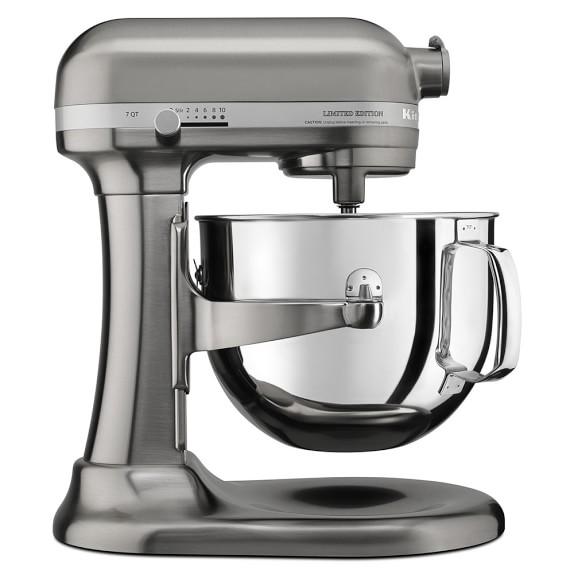 KitchenAid® Pro Line® Brushed Nickel Stand Mixer, 7 Qt.
