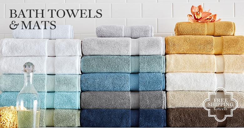 Bath Towels & Mats