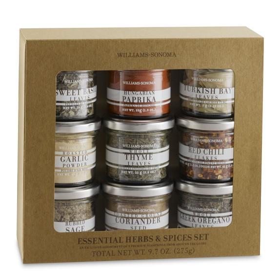 Williams Sonoma Essential Herbs & Spices Set
