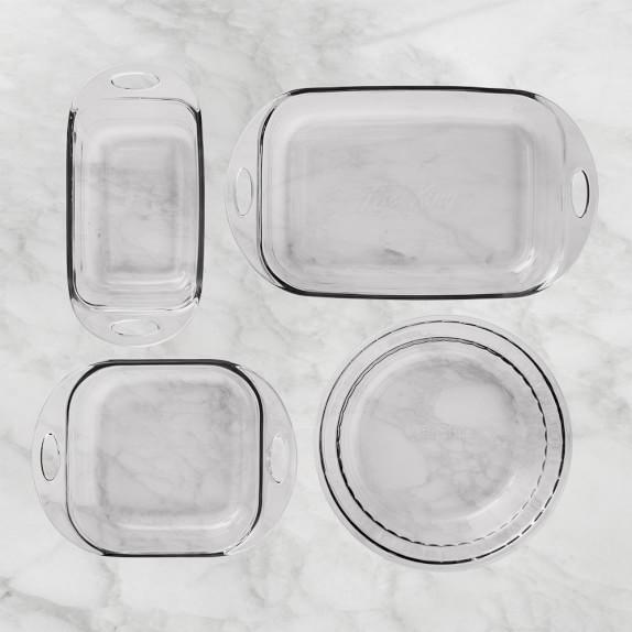 Fire King 4-Piece Glass Bakeware Set