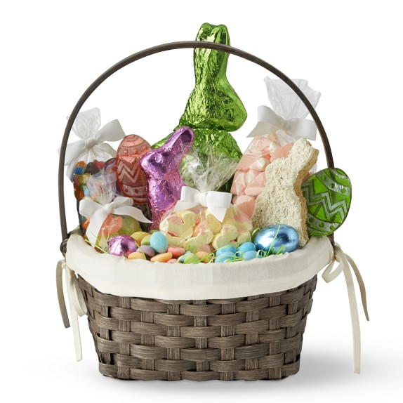Williams Sonoma Candy Filled Easter Basket, Large