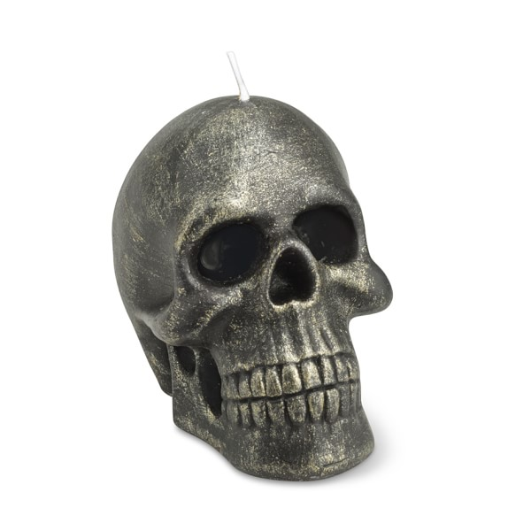 Halloween Skull Candle, Small