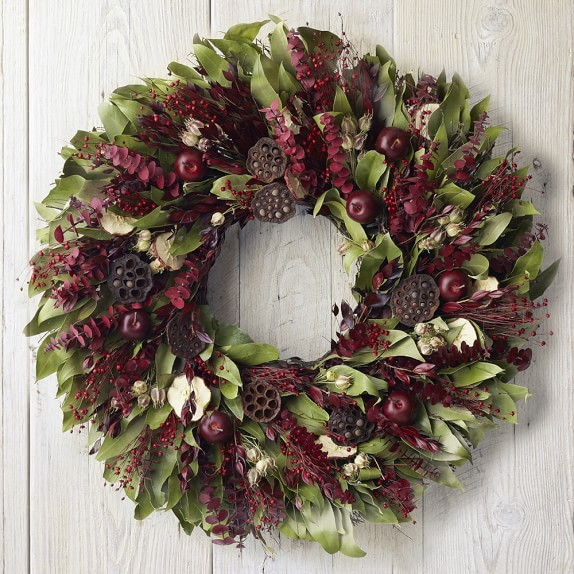 Harvest Apple Wreath, 22