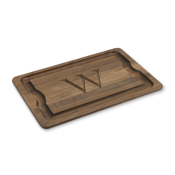 Monogram Carving Board, Walnut