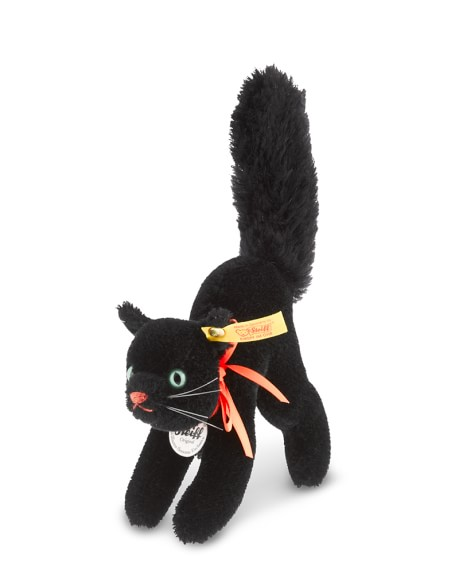 Williams Sonoma Steiff Black Cat