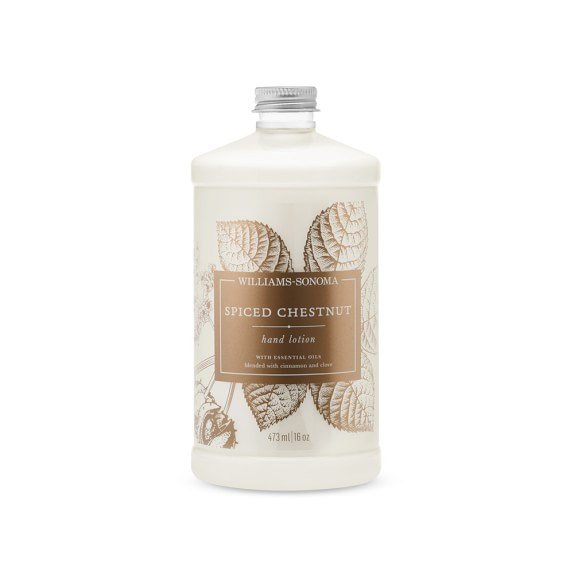Williams Sonoma Spiced Chestnut Hand Lotion, 16oz.