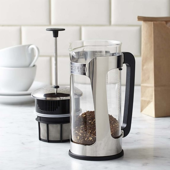 Espro P5 Glass French Press, Stainless Steel
