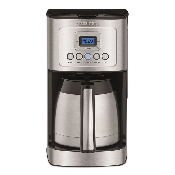 Cuisinart Perfect Temp 12-Cup Programmable Thermal Coffee Maker Williams Sonoma