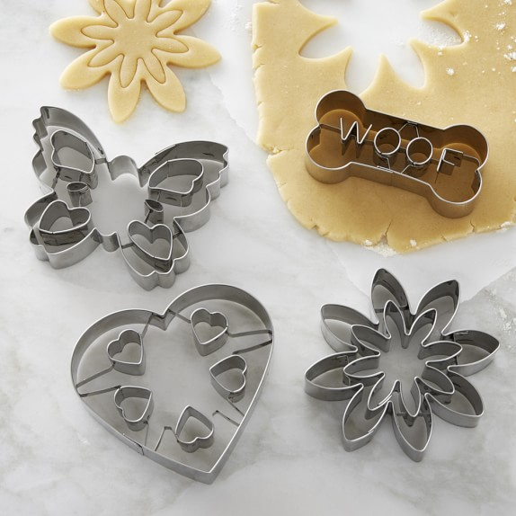 Williiams Sonoma Impression Cookie Cutters, Set of 4