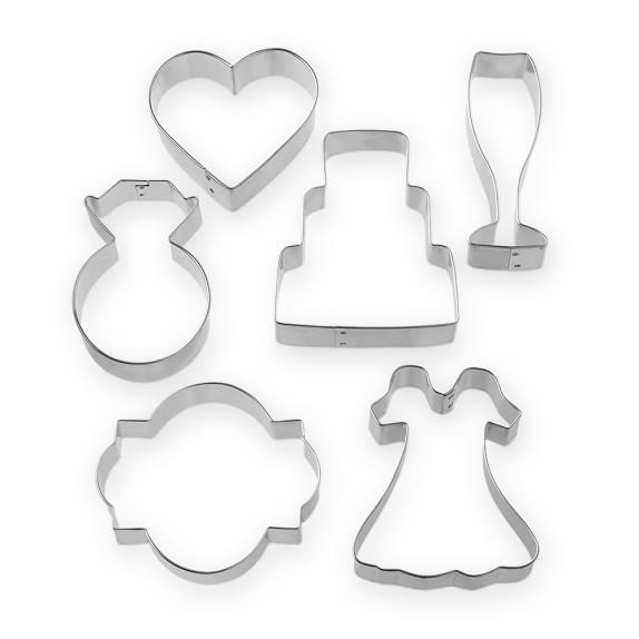 Wedding Cookie Cutter Set