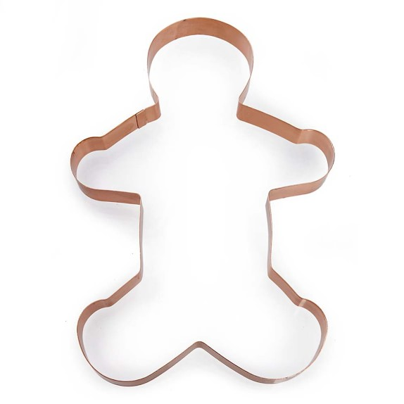 Giant Gingerbread Man Copper Cookie Cutter