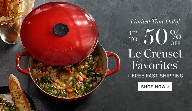 Up to 50% Off Le Creuset Favorites