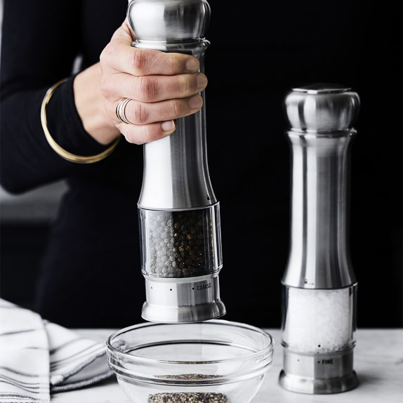 Williams Sonoma Electric Salt Pepper Mills Williams Sonoma