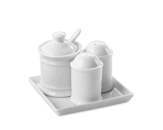 Apilco Condiment Set