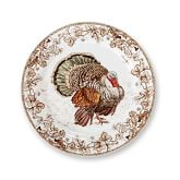 Plymouth Turkey Dinner Plates, Set of 4