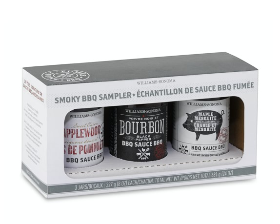 Williams Sonoma Smoky BBQ Sauce Gift Set