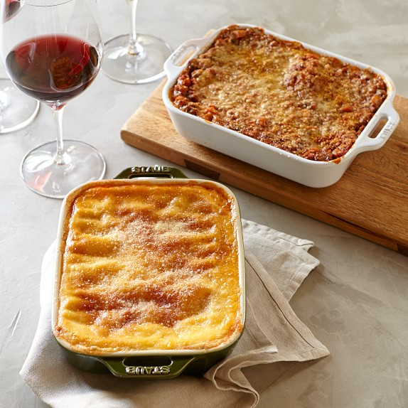 Beef and Veggie Lasagna, Set of 2