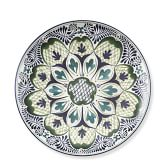 Veracruz Melamine Dinner Plates, Set of 4, Green