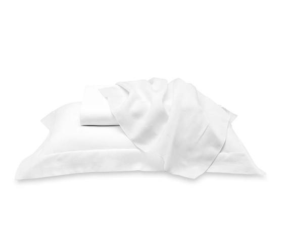 Signature Linen Bedding, Duvet, Queen, White