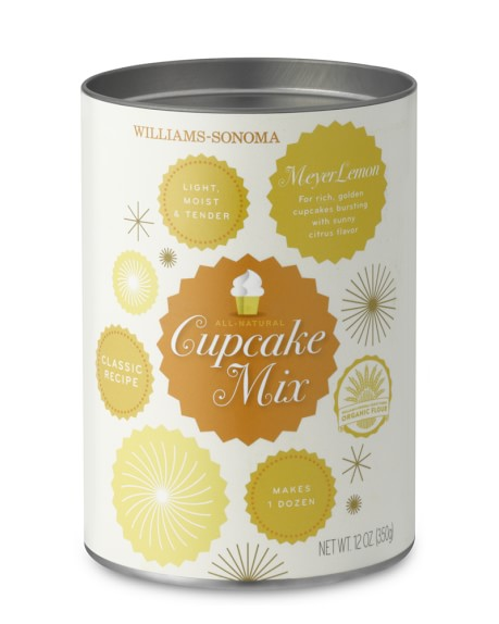 Williams Sonoma Cupcake Mix, Meyer Lemon