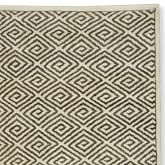 Graphic Greek Key Rug Swatch