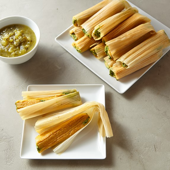 Texas Tamale Spinach Tamales