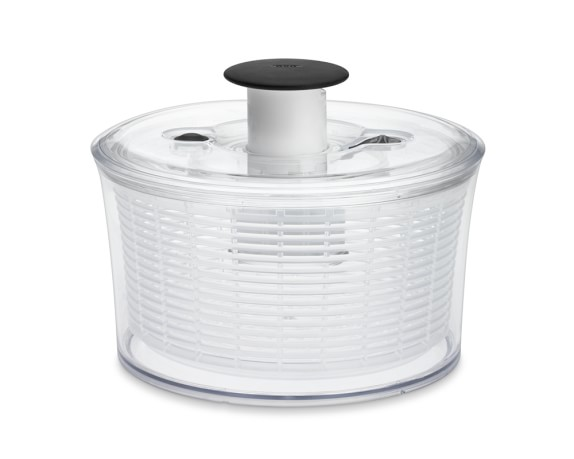OXO Small Salad Spinner, Clear