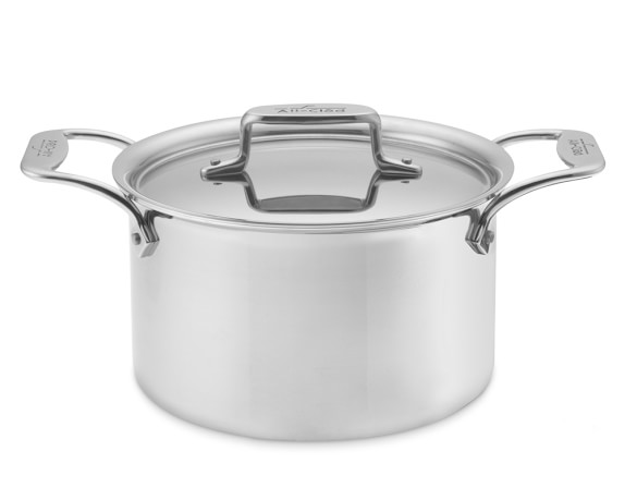 All-Clad d5 Stainless-Steel 4-Qt Soup Pot