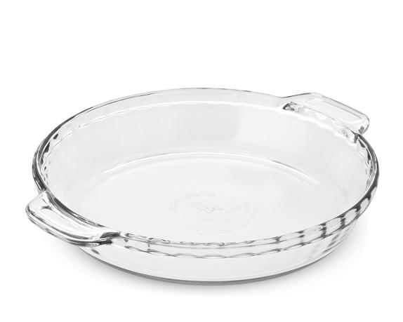 Anchor Hocking Glass Deep Pie Dish, 9
