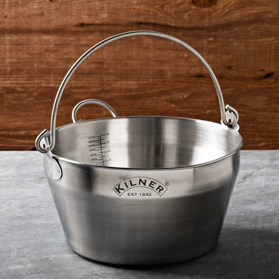 Stainless-Steel Jam Pan