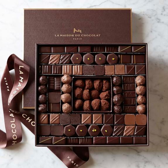 La maison du chocolat boite maison williams sonoma for Macarons la maison du chocolat