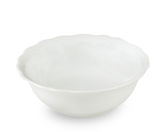 Pillivuyt Queen Anne Porcelain Cereal Bowls, Set of 4