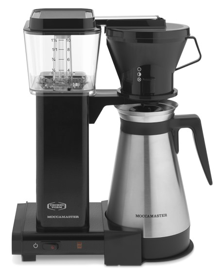 Technivorm Coffee Maker Manual : Technivorm Moccamaster Manual Drip Stop Coffee Maker with Thermal Carafe Williams Sonoma